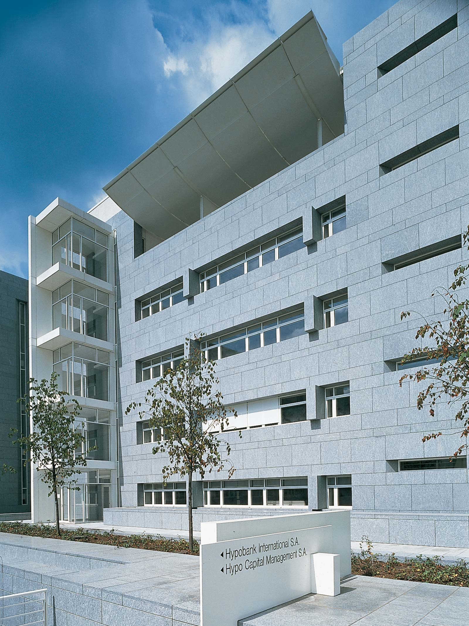 Hypobank international s a luxemburg references detail hofmann naturstein - Architekten luxemburg ...