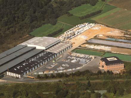Production plant Gamburg