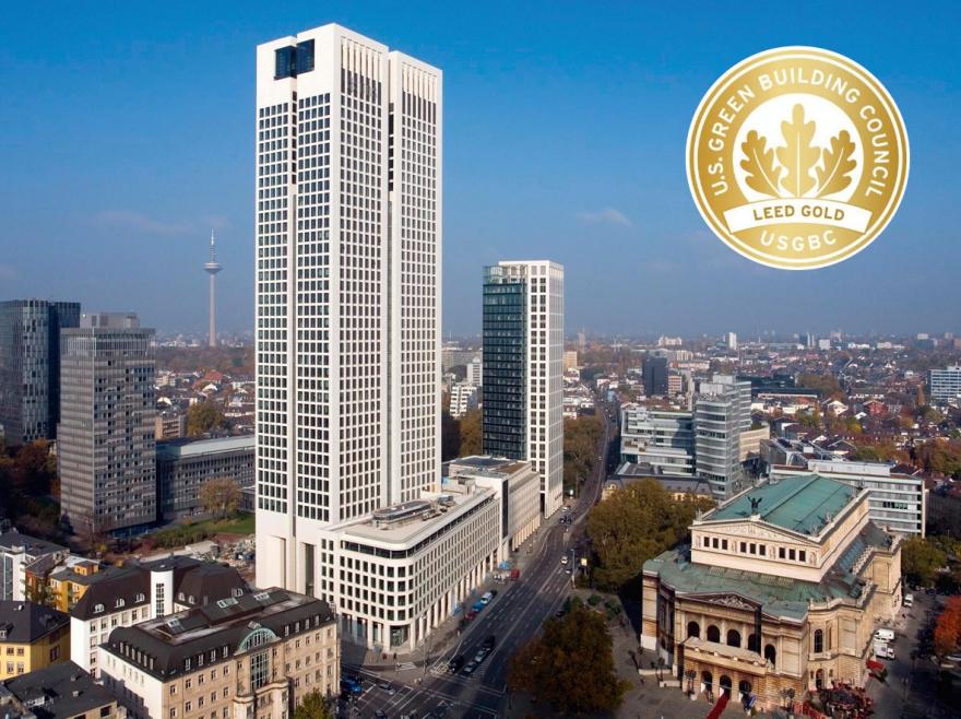 Frankfurter Opernturm: 2010 ausgezeichnet mit LEED Gold